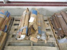 """(12) Boxes Symons Standard 18"""" X-Flat Ties, Located in Hopkinton, IA"""