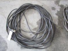 36' Black Extension Cord, Located in Hopkinton, IA