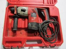 Milwaukee Hammer Drill, Serial # 409B713300121, 120 Volt, Located in Hopkinton, IA