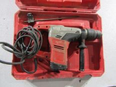 "Milwaukee Spline 1 9/16"" Rotary Hammer Drill, Serial # C83AD12450310, 120 Volt, Located in"