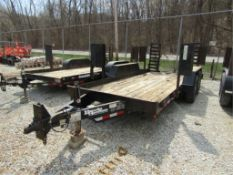 2004 Brooks Brother Trailer with Ramps, Model # SL162-E, Vin # 1B9US16264M274125, Located in