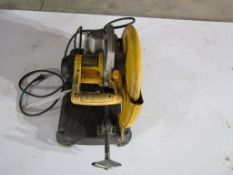 DeWalt Chop Saw, Model # DW371, Serial # 729085, Located in Hopkinton, IA