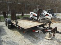 2003 Cronkhite Trailer with Ramps, Model # 2600EWA, Vin # 47326202131110167, Located in Wildwood,