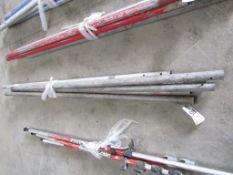 (5) Aluminum Handles, Located in Hopkinton, IA