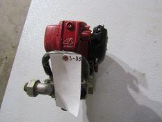 Honda WX10T Water Pump, 4 Stroke Motor, Missing Starter, Located in Hopkinton, IA