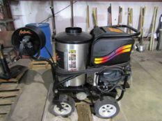 Aaladin 360 Deg. Swivel Steam Cleaner w/Hose Reel, Model # 14-530SS, Serial # 113430, Fuel Oil, 1