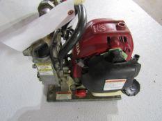 Honda WX10T Water Pump, 4 Stroke Motor, Serial # GCALT-121569, Located in Hopkinton, IA