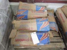 """(11) Boxes Symons Standard 12"""" X-Flat Ties, Located in Hopkinton, IA"""