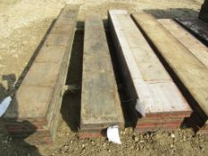 """(3) 8' x 12"""" Steel Ply Forms, Located in Hopkinton, IA"""