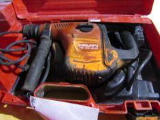 """Hilti 40 AVR Hammer Drill, Max Concrete 1 1/2"""", 120 Volt, Located in Hopkinton, IA"""