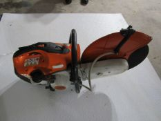 "Stihl TS-420, 14"" Concrete Cut-Off Saw, Gas Powered, Located in Hopkinton, IA"
