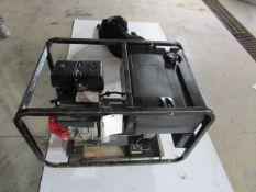 Master 5000 Generator, Model # MGH5000E, Serial # MPO7001G5, 3600 RPM, 120/240 Volt, Located in