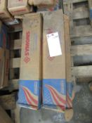 """(6) Boxes Symons Standard 14"""" X-Flat Ties, Located in Hopkinton, IA"""
