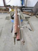 (4) Shoring Posts, Located in Hopkinton, IA