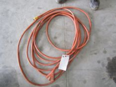 30' Orange 3 Way Extension Cord, Located in Hopkinton, IA