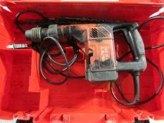 Hilti TE25 Hammer Drill, Max Concrete 1 1/4', 120 Volt, Located in Hopkinton, IA