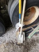 (2) Square & (1) Round Point Shovels, Located in Wildwood, MO