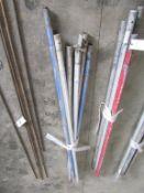 (6) Aluminum Handles, Located in Hopkinton, IA