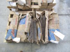 """(8) Boxes Symons 8"""" S Base Ties, Located in Hopkinton, IA"""