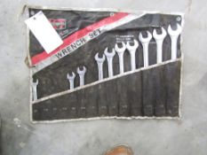 Standard End Wrenches, Located in Hopkinton, IA