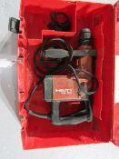 """Hilti TE-35 Hammer Drill, Max Concrete 1 1/4"""", 120 Volt, Located in Hopkinton, IA"""