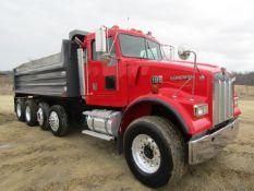 1996 Kenworth Dump Truck, Model Construct W900, Vin # 1NKWL90X0TS730128, 23,470 miles, 7573