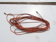 Orange Extension Cord with white ends