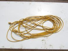 Yellow Extension Cord with yellow ends