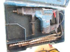 Bosch Hammer Drill w/bits, Model #RH540S Serial #705054739