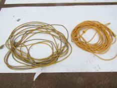 Yellow Extension Cords (damaged)