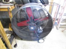 Heat Buster Fan, Model #SPL4223, Serial #C00, 1/2 hp, 115 Volt, 60 Hz, 30.3 Amps