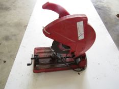 "14"" Milwaukee Cut Off Machine, Serial #98222210 120 Volt, 3500 R.P.M."