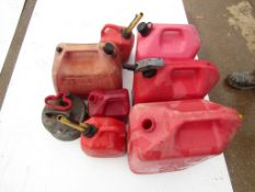 (8) Gas Cans