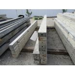 """(14) 4"""" x 8' Durand Concrete Forms, Smooth 6-12 Hole Pattern , Located in Mt. Pleasant, IA"""