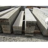 """(16) 11"""" x 8' Durand Concrete Forms, Smooth 6-12 Hole Pattern , Located in Mt. Pleasant, IA"""