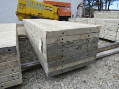 "(8) 24"" x 8' Durand Concrete Forms, Smooth 6-12 Hole Pattern, Attached Hardware, Located in Mt."