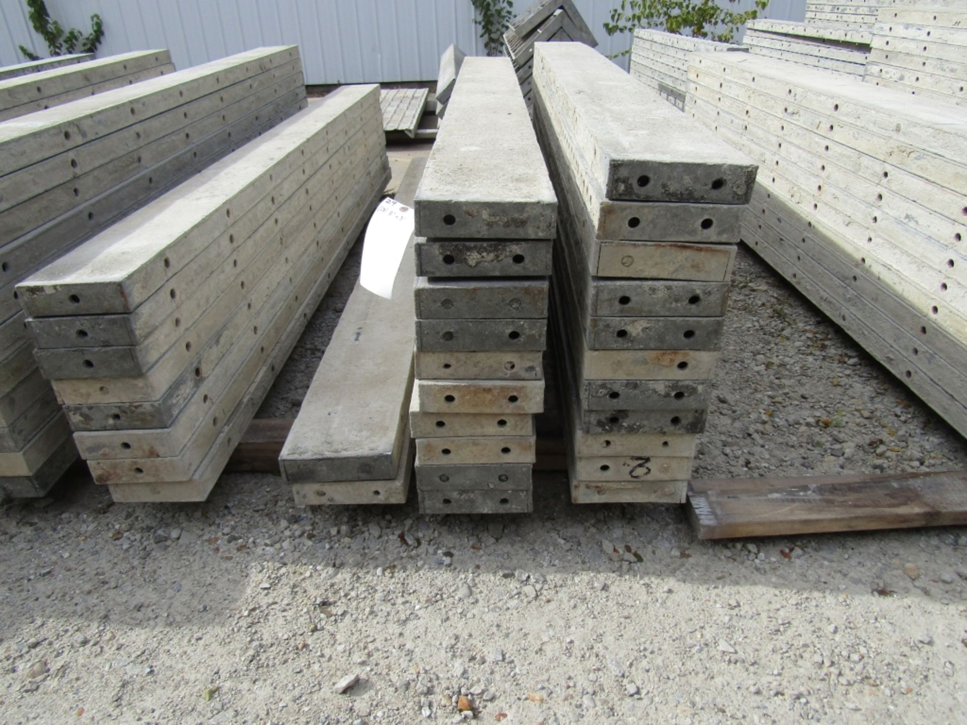 """(23) 8"""" x 8' Durand Concrete Forms, Smooth 6-12 Hole Pattern , Located in Mt. Pleasant, IA - Image 2 of 2"""