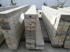 "(13) 6"" x 8' Durand Concrete Forms, Smooth 6-12 Hole Pattern , Located in Mt. Pleasant, IA"