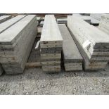 """(17) 13"""" x 8' Durand Concrete Forms, Smooth 6-12 Hole Pattern , Located in Mt. Pleasant, IA"""