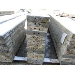 """(13) 10"""" x 8' Durand Concrete Forms, Smooth 6-12 Hole Pattern , Located in Mt. Pleasant, IA"""