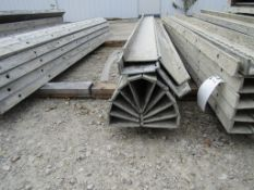 "(7) 6"" x 8' Durand Concrete Forms Hinged, Smooth 6-12 Hole Pattern, Located in Mt. Pleasant, IA"