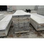 """(15) 18"""" x 8' Durand Concrete Forms, Smooth 6-12 Hole Pattern, Attached Hardware, Located in Mt."""