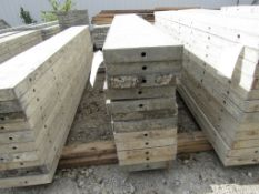 "(12) 12"" x 8' Durand Concrete Forms, Smooth 6-12 Hole Pattern , Located in Mt. Pleasant, IA"