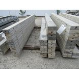 """(18) 5"""" x 8' Durand Concrete Forms, Smooth 6-12 Hole Pattern , Located in Mt. Pleasant, IA"""