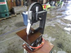 Wards Power Craft Bandsaw, Model #1K926F Serial #1101040400, Located in Mt. Pleasant, IA