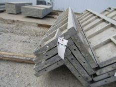 "(4) 14"" x 14"" x 8' Durand Concrete Forms Corners, Smooth 6-12 Hole Pattern, Located in Mt. Pleasant,"