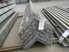 "(6) 14"" x 14"" x 9' Durand Concrete Forms Corners, Smooth 6-12 Hole Pattern, Located in Mt. Pleasant,"