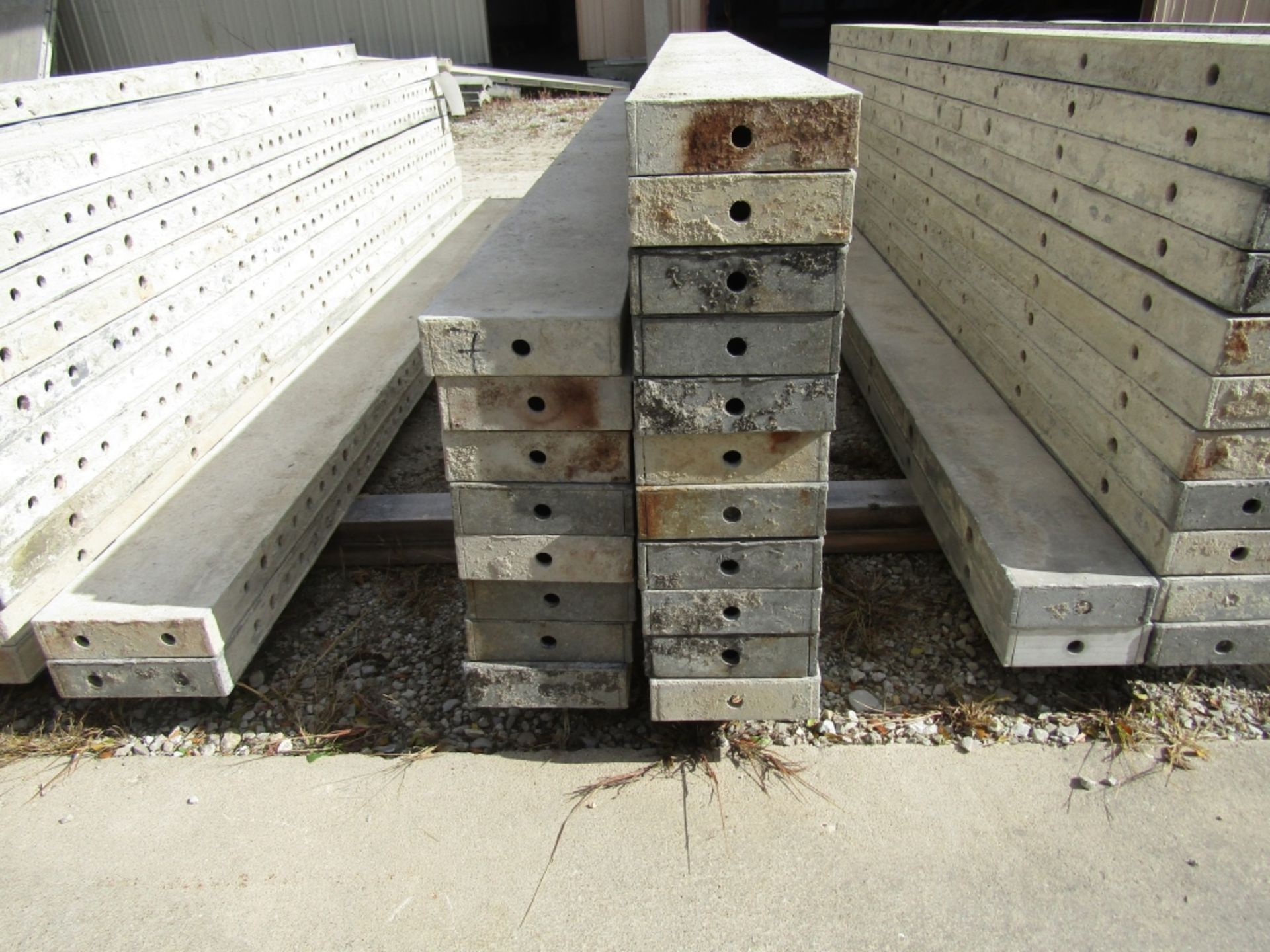 """(19) 7"""" x 8' Durand Concrete Forms, Smooth 6-12 Hole Pattern , Located in Mt. Pleasant, IA - Image 2 of 2"""