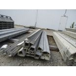 """(13) 2 3/4"""" x 8' Durand Concrete Forms Hinged, Smooth 6-12 Hole Pattern, Located in Mt. Pleasant,"""