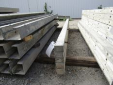 "(5) 3"" x 8' Durand Concrete Forms, Smooth 6-12 Hole Pattern , Located in Mt. Pleasant, IA"